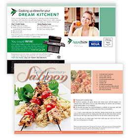 Recipe Card for ArrowPointe Credit Union