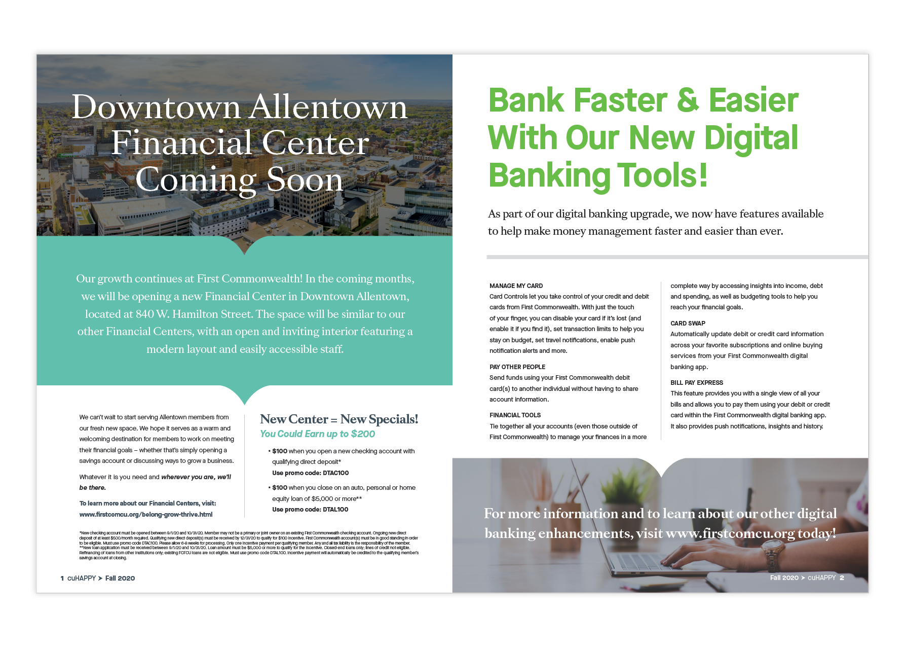 First Commonwealth FCU Newsletter