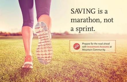 Saving is a marathon, not a sprint.