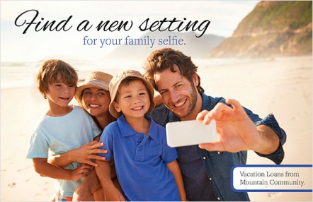 Find a new setting for your family selfie.