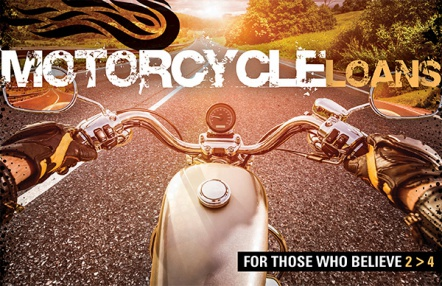 Motorcycle Loans for Those Who Believe 2>4