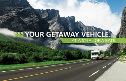 Your Getaway Vehicle. At a Steal of a Rate.