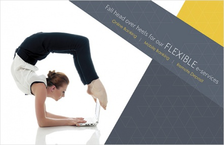 Fall head over heels for our flexible e-services