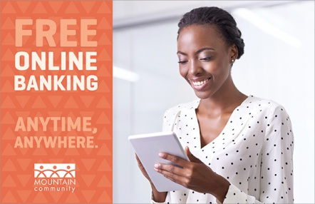 Free Online Banking. Anytime, Anywhere.