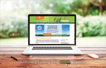Redefining banking. One click at a time.