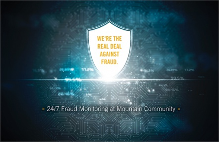 We're the Real Deal Against Fraud.