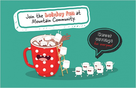 Join the holiday fun at Mountain Community.