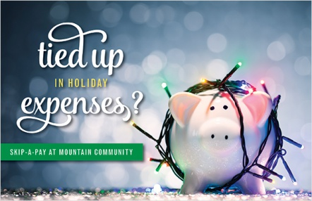 Tied up in holiday expenses?
