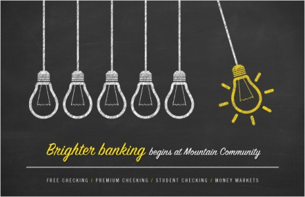 Brighter Banking Begins at Mountain Community