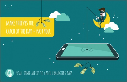 Make thieves the catch of the day – not you.