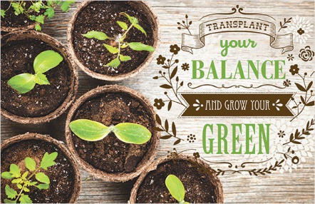 Transplant Your Balance and Grow Your Green