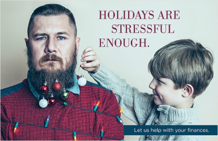 Holidays are stressful enough.