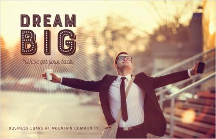Dream Big . We've Got Your Back.