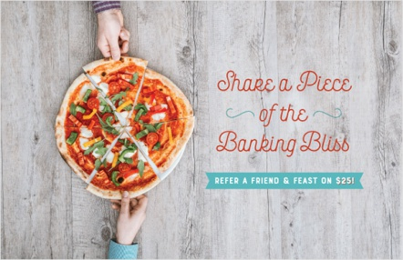 Share a Piece of the Banking Bliss