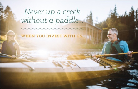 Never Up a Creek Without a Paddle