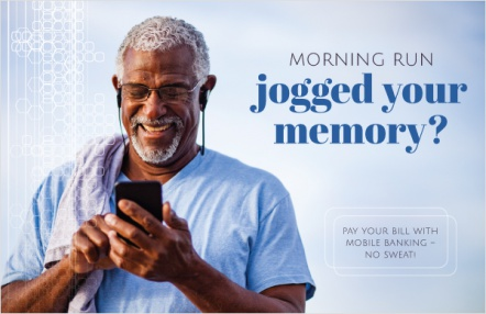 Morning run jogged your memory?