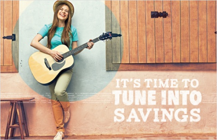 It's Time to Tune Into Savings