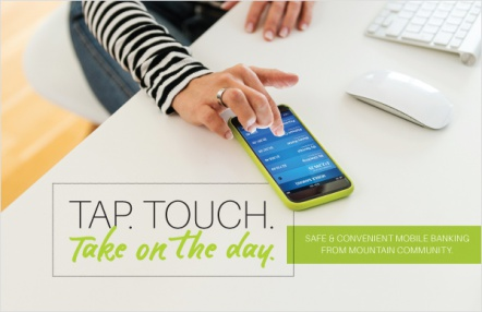 Tap. Touch. Take on the Day.