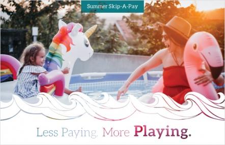 Less paying. More playing.