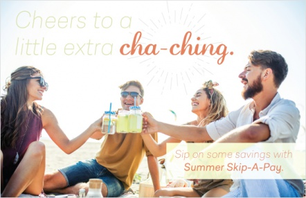 Cheers to a little extra cha-ching.