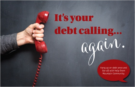 It's your debt calling...again.