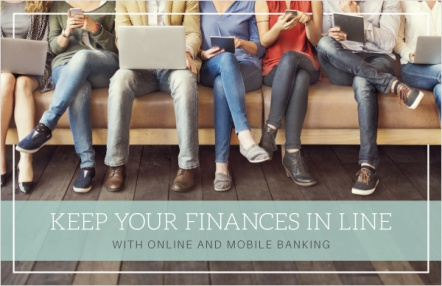 Keep your finances in line