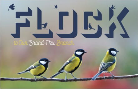 Flock to Our Brand-New Branch
