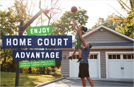 Enjoy Home Court Advantage
