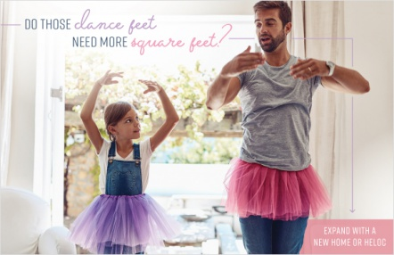 Do those dance feet need more square feet?