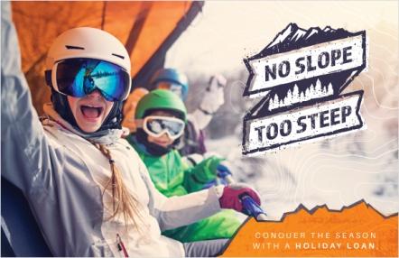 No slope too steep