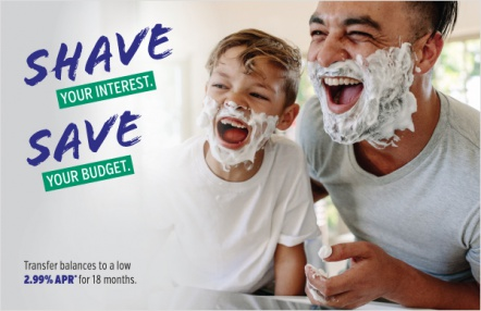 Shave your interest. Save your budget.
