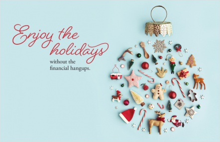 Enjoy the holidays without the financial hangups