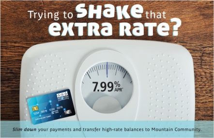 Trying to shake that extra rate?