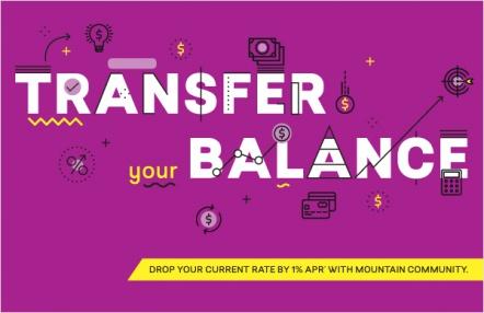 Transfer your balance