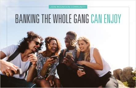 Banking the whole gang can enjoy