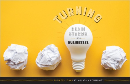 Turning Brain Storms into Businesses