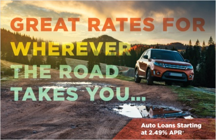 Great rates for wherever the road takes you...