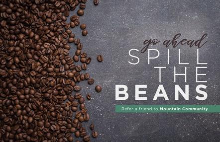 go ahead, spill the beans
