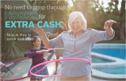 No need to jump through hoops for extra cash.