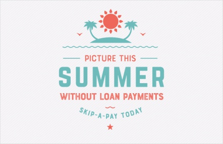 Picture this – summer without loan payments