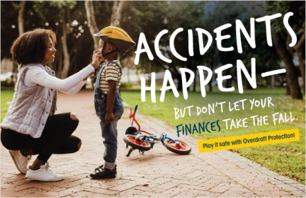 Accidents happen – but don't let your finances take the fall.