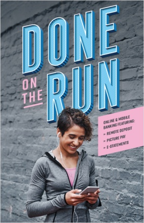 Done on the run