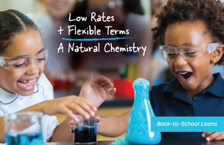 Low Rates + Flexible Terms = A Natural Chemistry