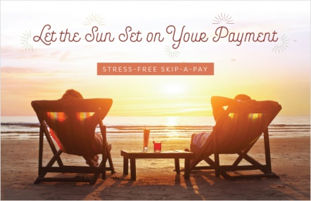 Let the sun set on your payment