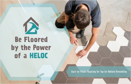 Be floored by the power of a HELOC
