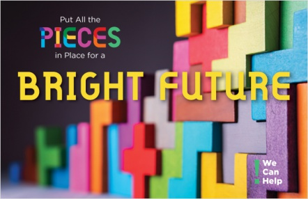 Put all the pieces in place for a bright future