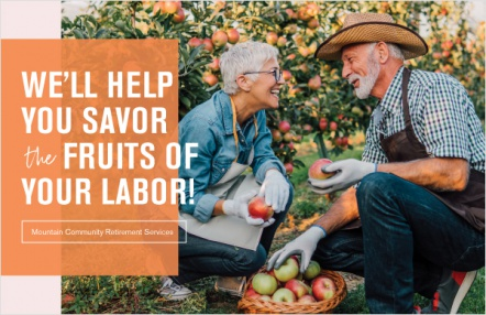 We'll help you savor the fruits of your labor!