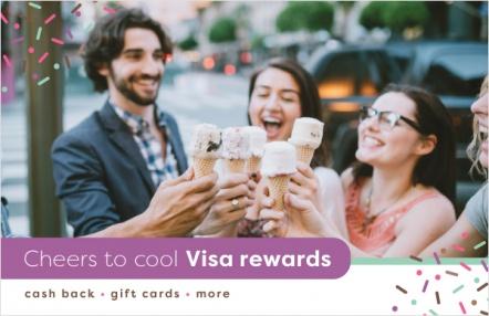 Cheers to cool Visa rewards