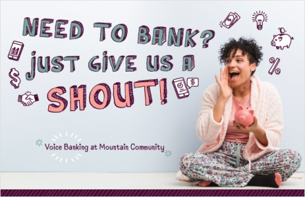 Need to Bank? Just give us a shout!