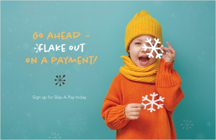 Go ahead – flake out on a payment